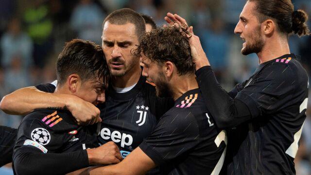 Szczęsny doczekał się czystego konta, Juventus efektownie wygrał