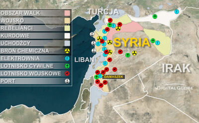 Co zaatakują Amerykanie? Mają bomby do niszczenia broni chemicznej