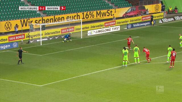 Robert Lewandowski - gole w sezonie 19/20