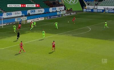 Skrót meczu Wolfsburg - Bayern w 34. kolejce Bundesligi