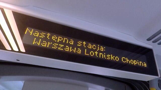 PKP chce, by pociągi dalekobieżne dojeżdżały na lotnisko w Warszawie.