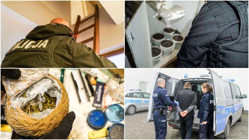 Sześć kilogramów narkotyków  w mieszkaniu 36-latka. Trafił do aresztu