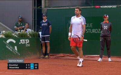 Wawrinka odpadł w drugiej rundzie turnieju ATP w Genewie