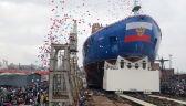 Wodowanie atomowego lodołamacza Ural