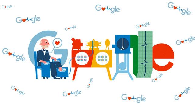 Willem Einthoven bohaterem Google Doodle. Kim był laureat Nagrody Nobla?