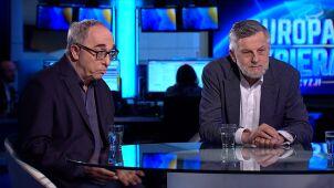 Aleksander Smolar i Andrzej Zybertowicz w