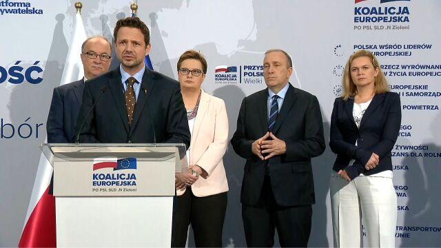 Trzaskowski: wybory do europarlamentu zadecydują, jaka będzie Polska