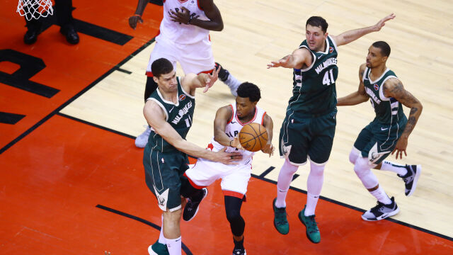 Dwie dogrywki w meczu NBA. Toronto wciąż z nadziejami