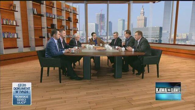 Koalicjanci spierali się o finanse Kościoła (TVN24)