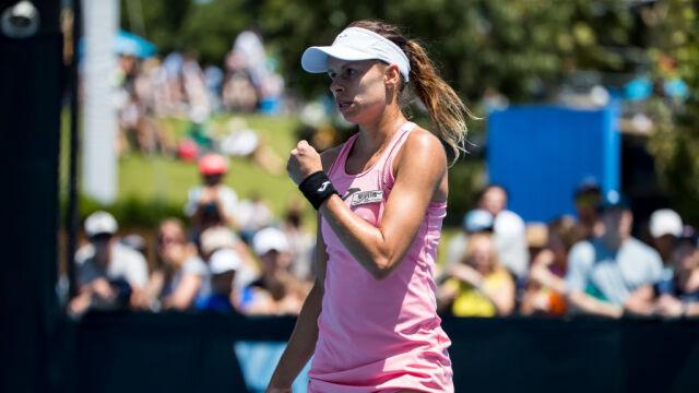 Magda Linette nie próżnuje. Sparingi z mistrzynią Australian Open