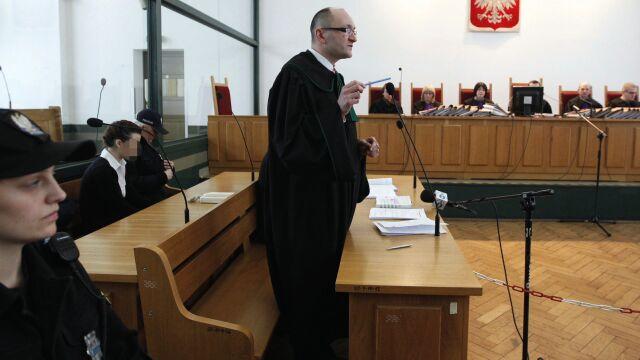Katarzyna W. uśmiechała się podczas procesu