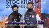 Kaliszek i Spodyriew nie zdołali utrzymać 9. pozycji w rywalizacji par tanecznych