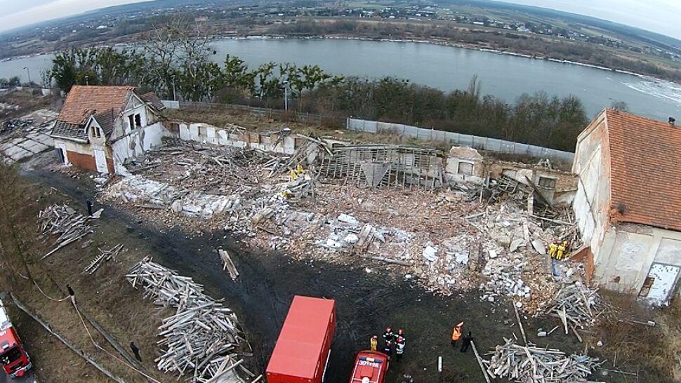 Zawaliła się hala w Grudziądzu