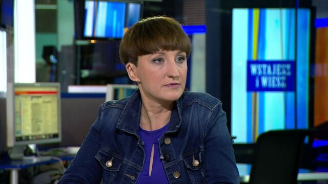 Agnieszka Burzyńska o opublikowanych taśmach