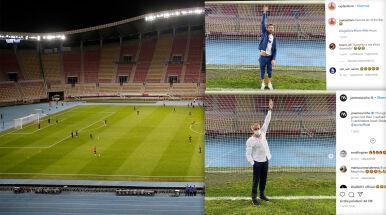 Alarm i szybka interwencja Mourinho tuż przed meczem.