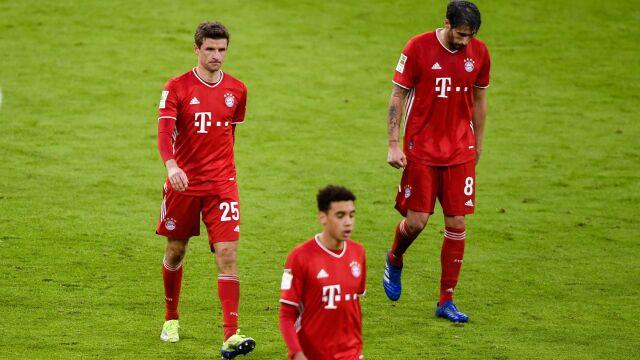 Maszyna zatrzymana. Bayern potknął się w Monachium