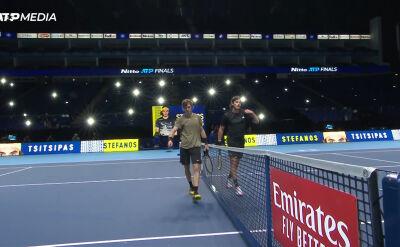 Tsitsipas pokonał Rublowa w fazie grupowej ATP Finals