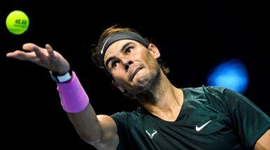Nadal w półfinale ATP Finals, ale nie było łatwo
