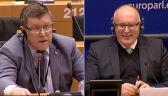Kuźmiuk do Timmermansa: Trybunał Konstytucyjny jest w pełni pluralistyczny, proszę się nie śmiać