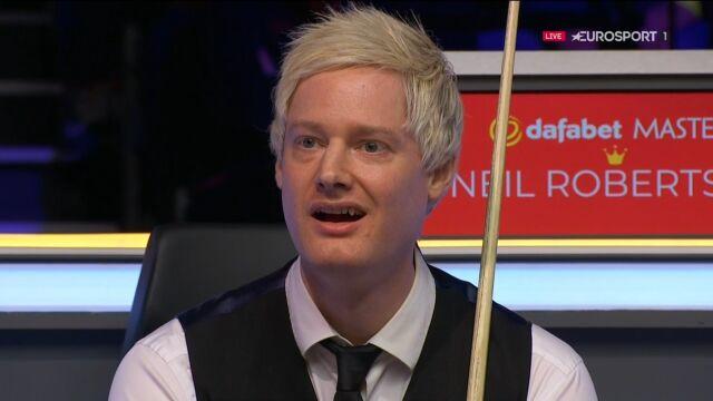 Magiczne zagranie Maguire'a, Robertson był w szoku