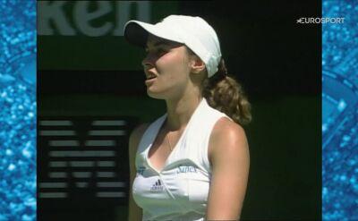 Morderczy upał, przegrany finał Hingis. Historie Australian Open