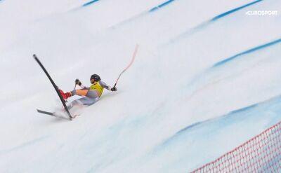 Niebezpieczny upadek norweskiego alpejczyka w Wengen