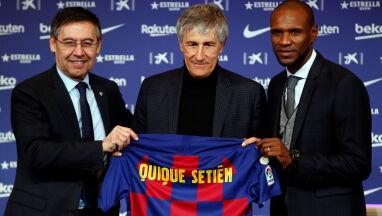 Nowy szkoleniowiec Barcelony zaprezentowany.