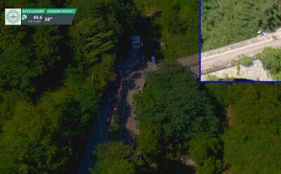 Koszmarny upadek Evenepoela w Il Lombardia