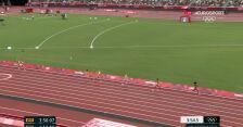 Tokio. Cały bieg Galant w półfinale 1500 m kobiet