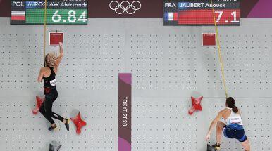 Polka z rekordem świata w finale wspinaczki