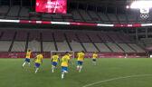 Tokio. Skrót meczu Brazylia – Meksyk w półfinale turnieju piłki nożnej mężczyzn