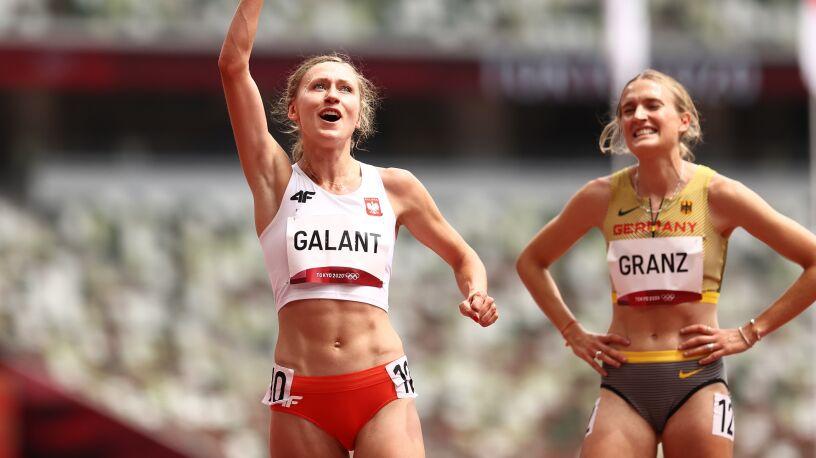 Galant w półfinale. Poprawiła rekord życiowy