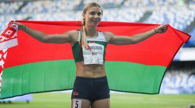 Kryscina Cimanouska w drużynie z polskimi gwiazdami
