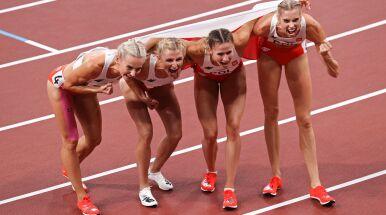 Szaleństwo na bieżni. Sztafeta kobiet ze srebrem i z rekordem Polski