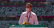 Tokio. Patryk Dobek odbiera brązowy medal