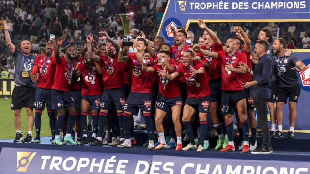 Lille znów lepsze od PSG. Historyczny tytuł
