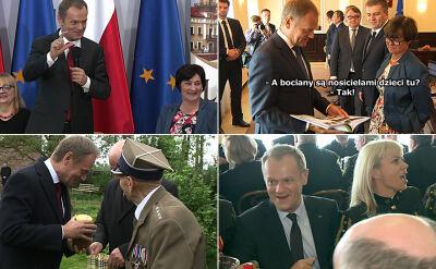 Nie tylko poważny premier. 7 lat Tuska z innej perspektywy