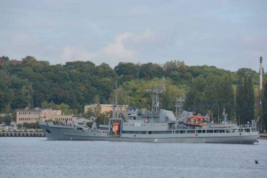 Polskie okręty ćwiczyły obronę szlaków handlowych