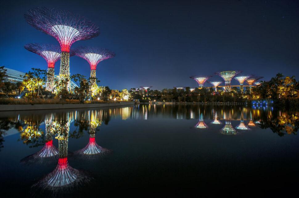 Futurystyczne ogrody w Singapurze. Oto najlepszy budynek świata