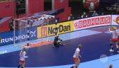 Skrót meczu Norwegia - Dania w półfinale ME w piłce ręcznej kobiet