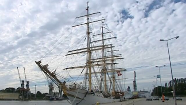 Duński gigant przypłynął do Gdańska