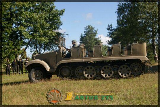 Niemiecki ciągnik artyleryjski Sd.Kfz 6 znowu działa