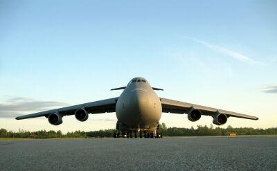 Amerykański samolot transportowy C-5 Galaxy