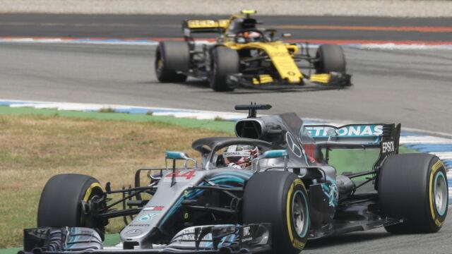 Kapitalny pościg Hamiltona, wściekłość Vettela. W Grand Prix Niemiec działy się cuda