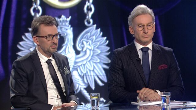 """Prof. Marek Chmaj i Piotr Schramm byli gośćmi """"Faktów po Faktach"""""""