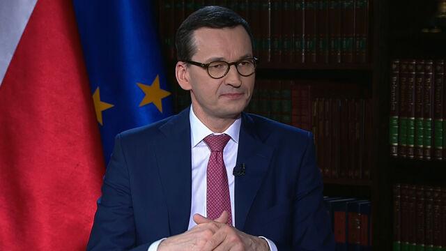 """Premier Morawiecki w """"Faktach po Faktach"""""""