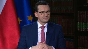 Premier Mateusz Morawiecki w