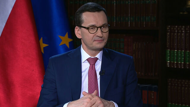 """Morawiecki o """"taśmach Kaczyńskiego"""""""