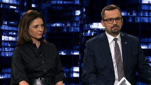 Joanna Mucha i Marcin Horała w