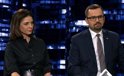 "Joanna Mucha i Marcin Horała w ""Kropce nad i"""